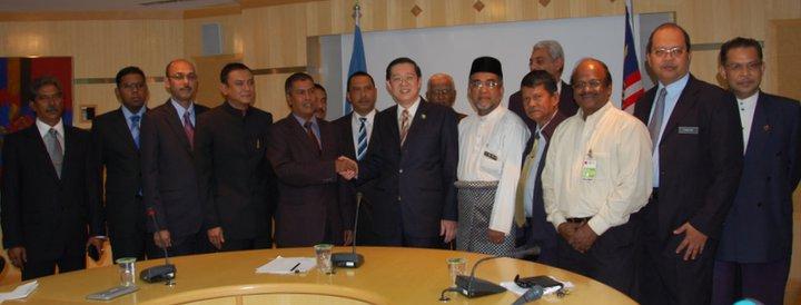 Persatuan Kontraktor Melayu Pulau Pinang memuji dan menyanjung Ketua