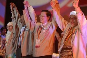 pakatan rakyat leaders pix