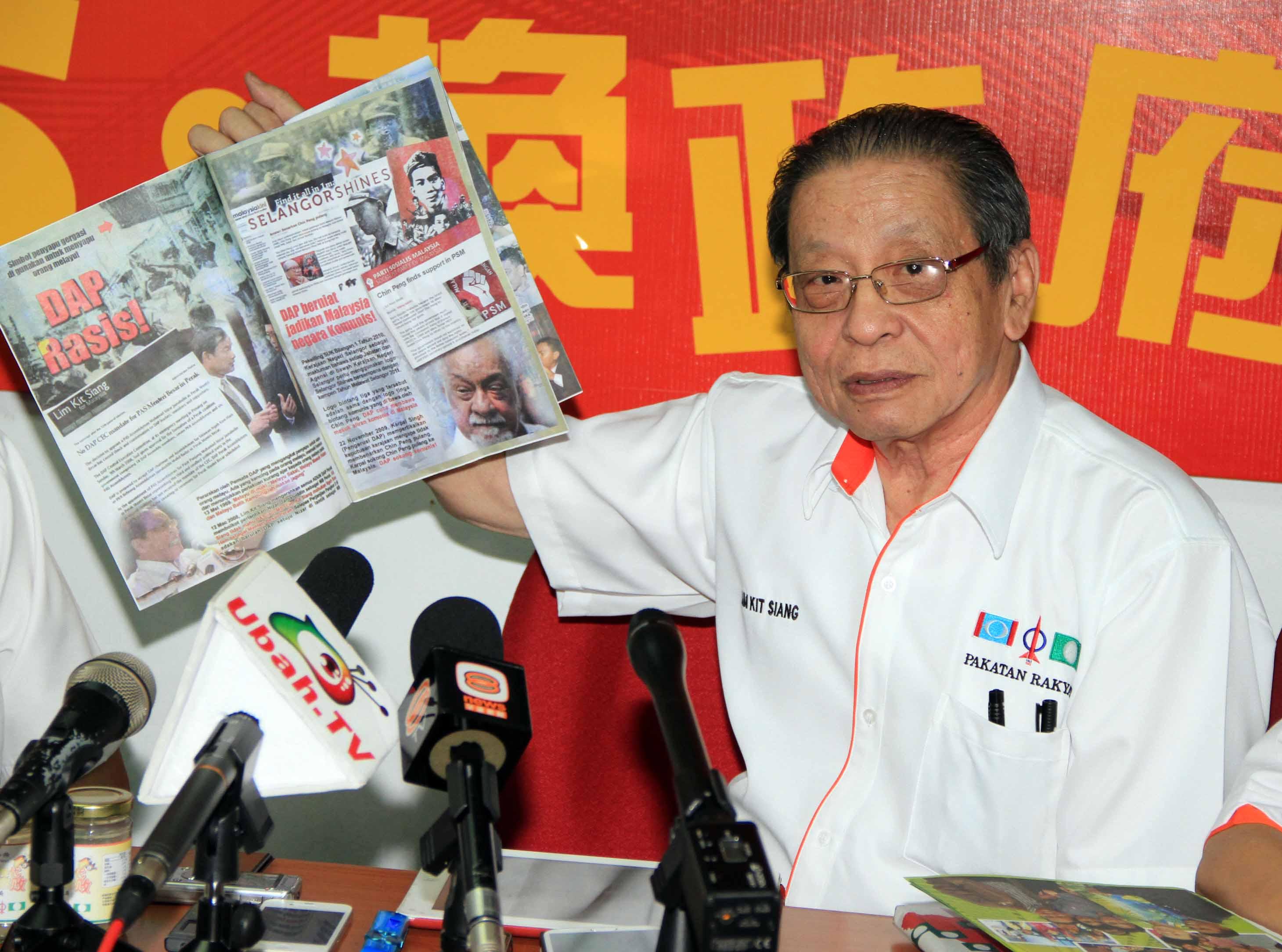 DAP tak pernah hormat parti dalam Pakatan Harapan