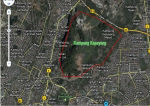 map kg kepayang, fair park