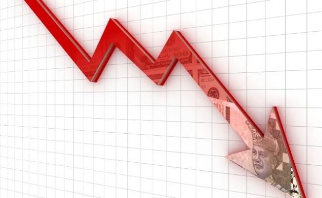 economy plunge myr
