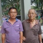Yee Kam Heng (kiri)