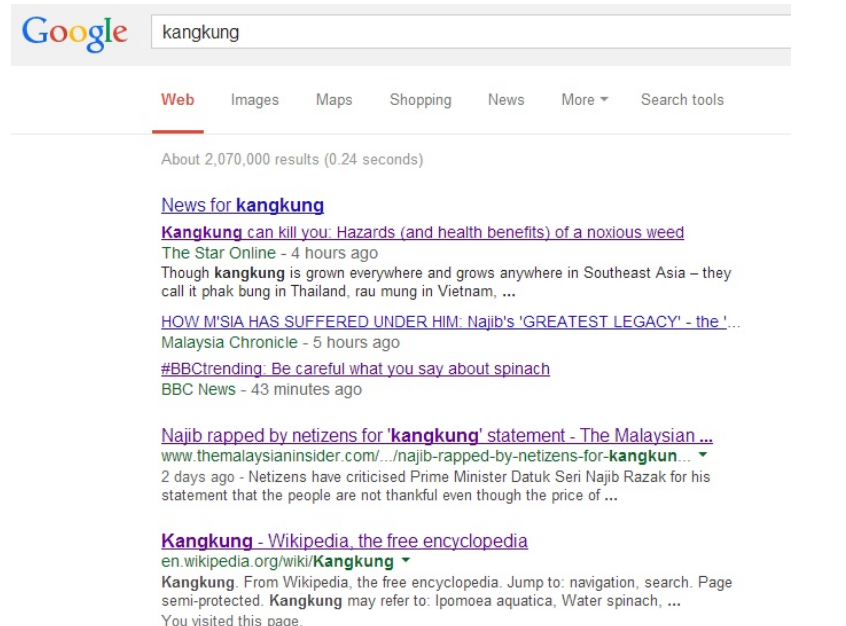 googlekangkung