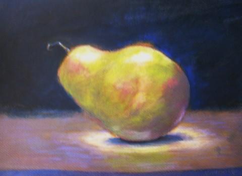 Pear-in-the-spotlight