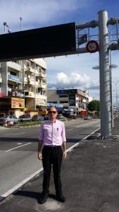 Papan tanda elektronik ITIS tidak pernah berfungsi di Batu 5 Jalan Ipoh