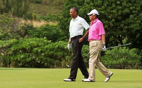 Najib_Obama_golf