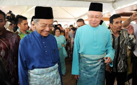 Najib & Tun Mahathir