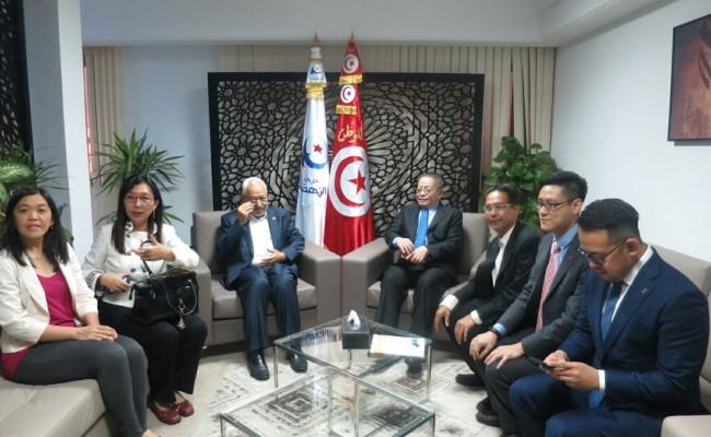 Bersama Rached Ghannouchi