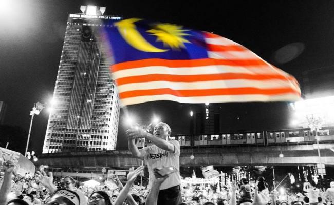 bersih bendera edited bnw