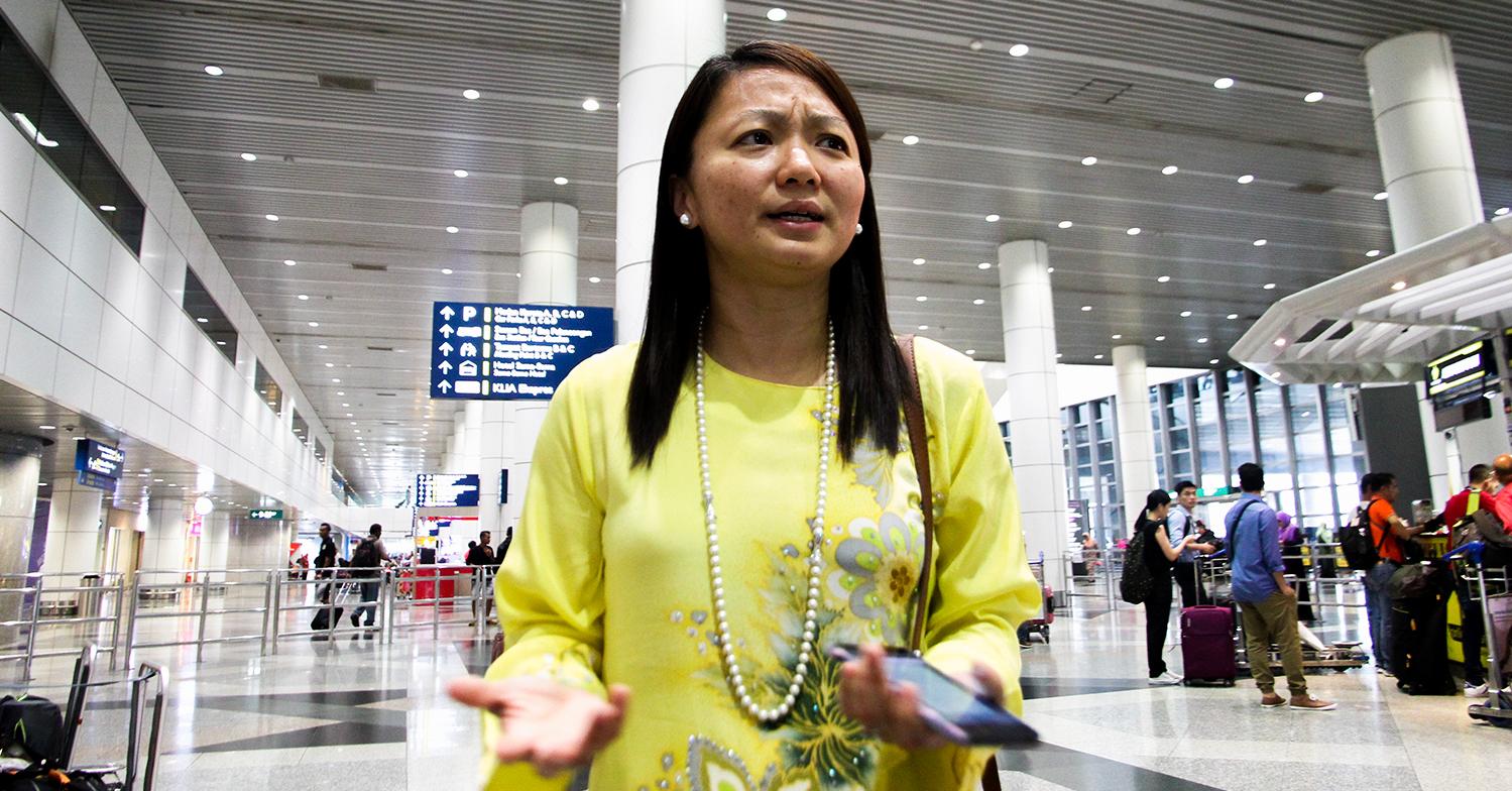 Hannah Yeoh dihalau daripada masuk ke Sarawak