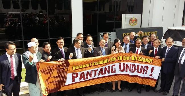 Kit Siang Kembali ke Parlimen