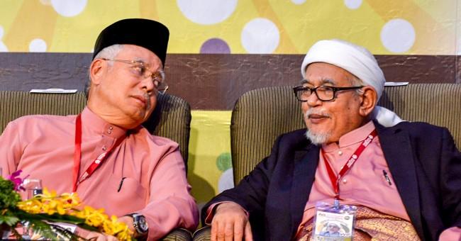 Image result for Najib Razak and Hadi Awang