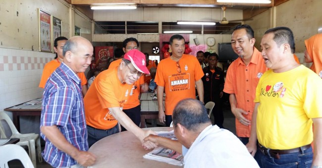 kit siang walkabout sungai besar